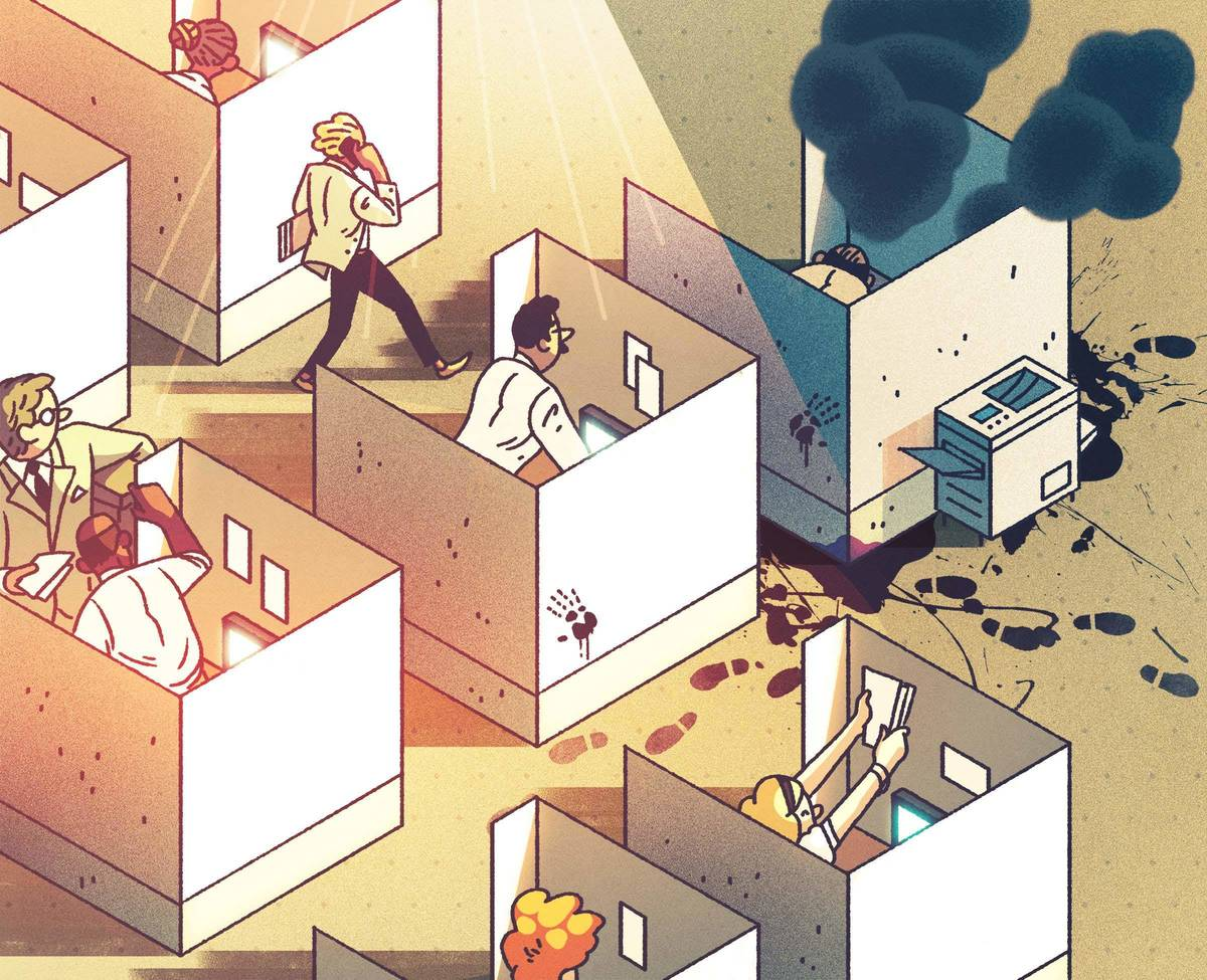 Grouping Staff And Company Floor Plans: Elite Co-Workers Up Everyone's Game, But Toxic Ones Kill Productivity