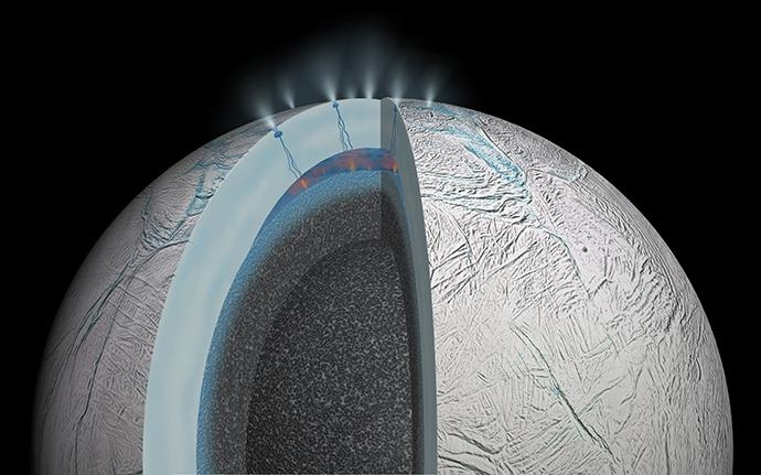 Microbes On Enceladus? Methane On Saturn's Moon Can't Be Explained By Known Geochemical Processes