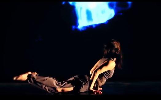 Danceroom Physics: Seeing The Atomic World Through Art