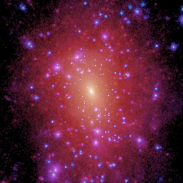 Can A Computer Simulation Solve The Mystery Of Dark Matter?