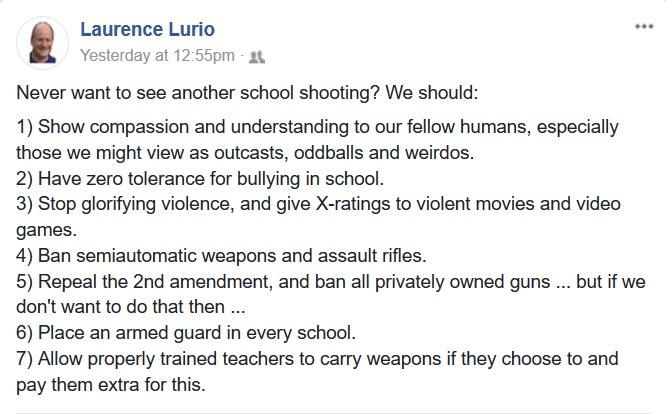 Basic Arithmetic: Of Guns and Armed Teachers.