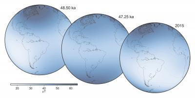 Earth's Magnetic Field Is Not Reversing