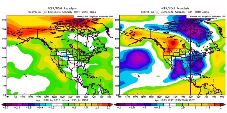 El Niño Trumps Climate Change In Alberta