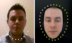 Samsung Face Recognition Improves When A Morphed Average Of Faces Is Used