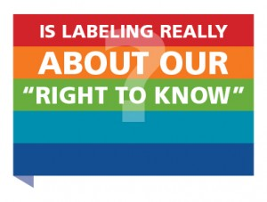 """Is Labeling GMOs Really About Our """"Right To Know"""""""