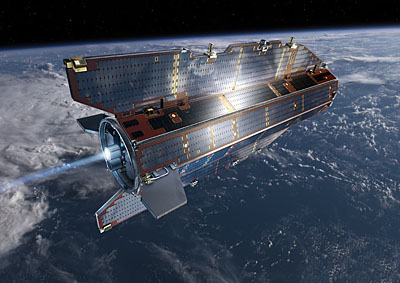 GOCE - An Aerodynamic Satellite That Will Map The Geoid