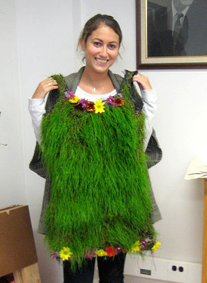 better than a grass skirt?