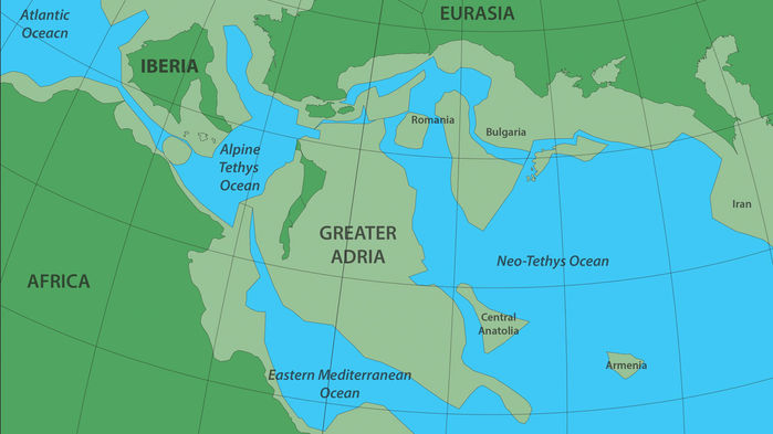 Greater Adria - Ancient Continent That Collided With Europe And Was Destroyed Gets A Timeline