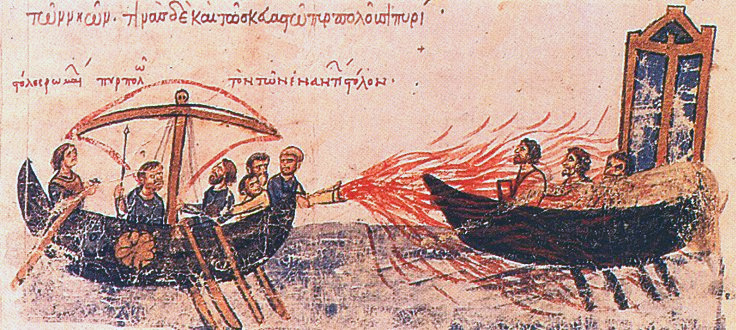 Tangential Science: Modern Greek Fire Ain't What It Used To Be