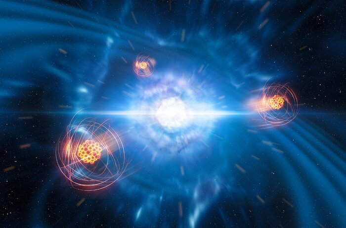 Strontium Born From Neutron Star Collision Detected In Space - And What It Means