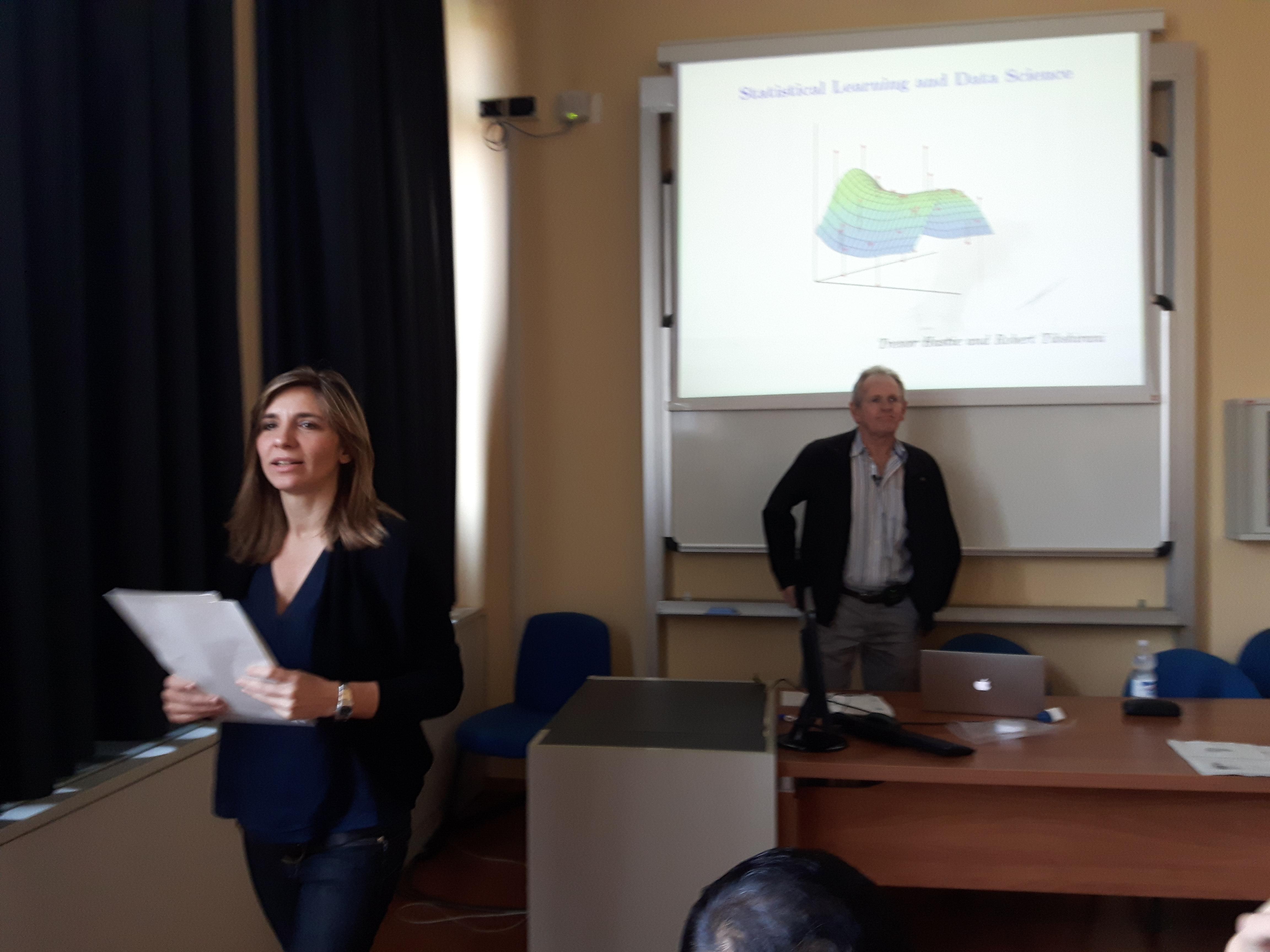 Trevor Hastie Lectures In Padova