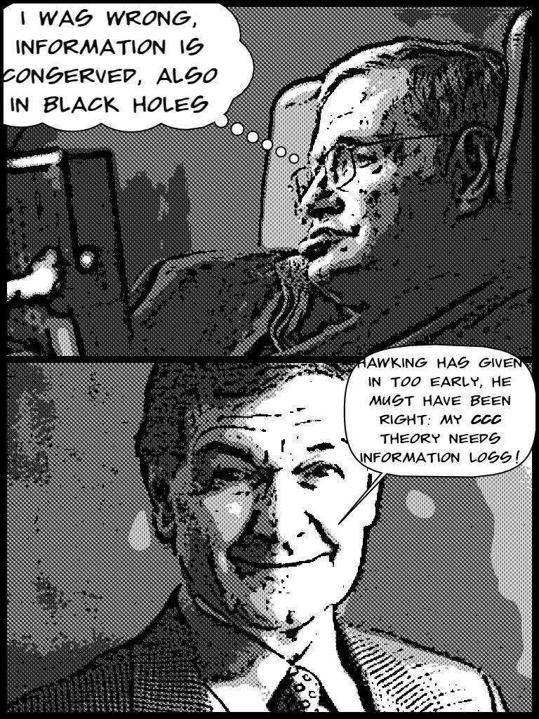 Resultado de imagen de Hawking y Penrose