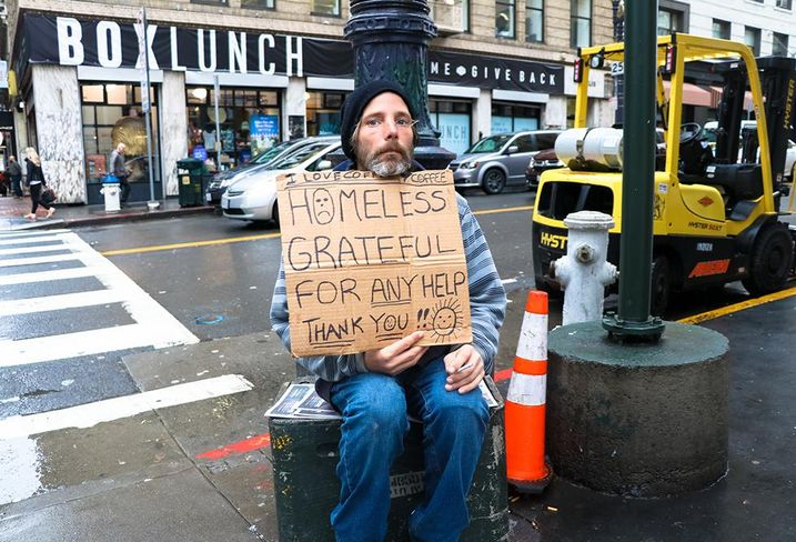 Homeless People Go Where The Free Stuff Is - And For 50% Of Them, That Is California