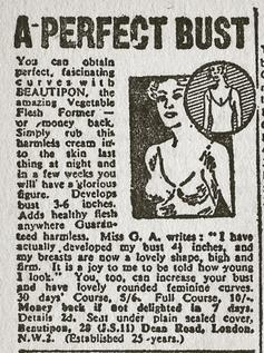 'Get A Lovely Bust For Christmas': 1930s Tips For How To Be A Festive Woman
