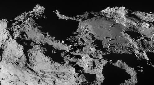 Building Blocks Of Life Found Among Organic Compounds On Comet 67P