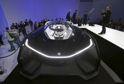 Electric 'Batmobile' Shows Chinese Want To Be In The Supercar Market