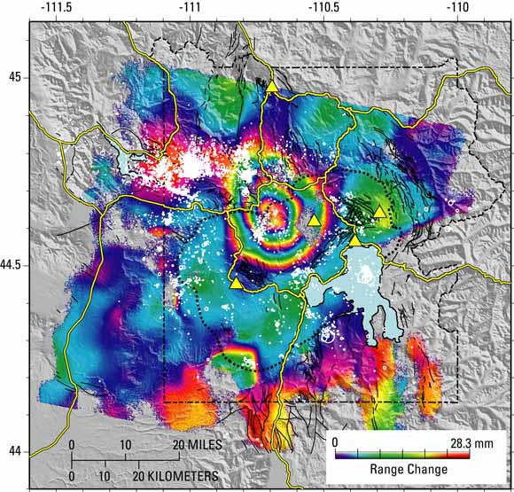 Measuring Volcano Deformation From Space: InSAR