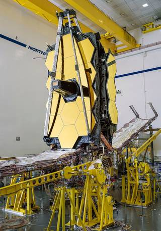 James Webb Space Telescope, 14  Years Behind Schedule, Gets Mechanical Assembly