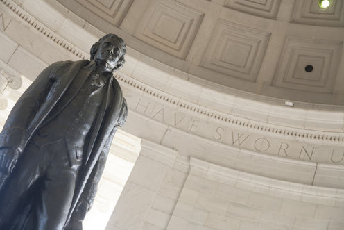 a conversation between thomas jefferson and It was difficult to quarrel with jefferson since, besides being naturally  1792 (a  month before the conversation with the president), jefferson, in returning his.