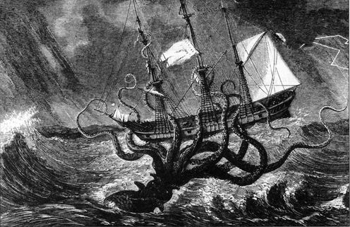 The Origin Of The Kraken Legend