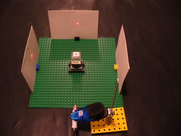 Lego Optics Lab: Beam Splitter