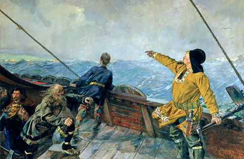 Crystal 'Sunstones'  - How The Vikings Discovered America?