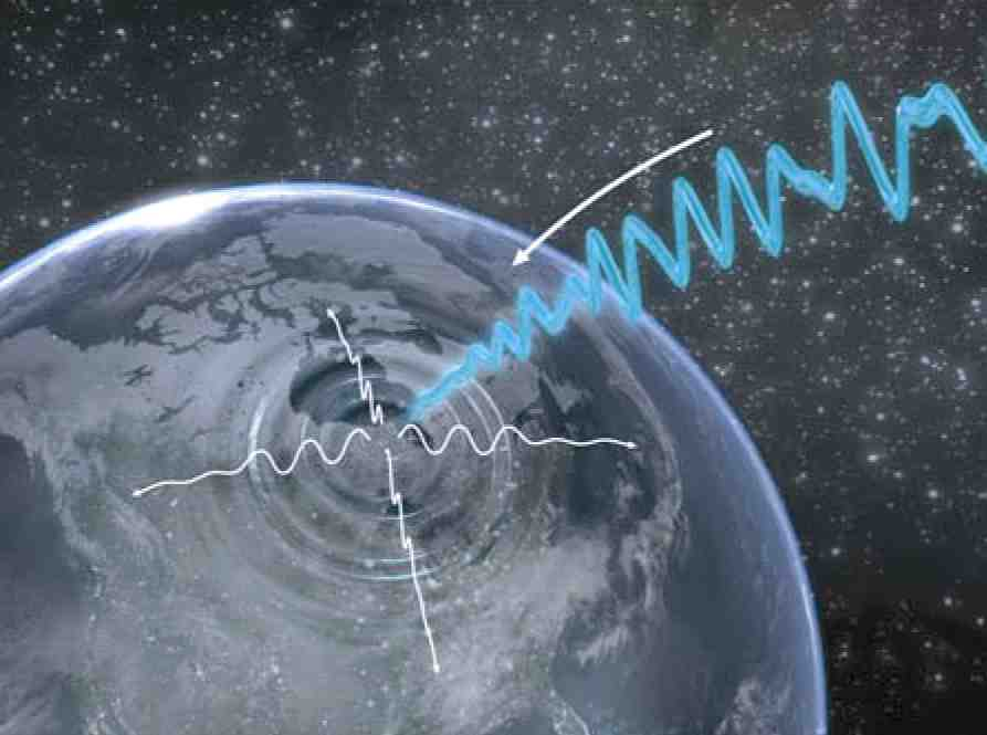 magnetic blast waves space storm epicenter