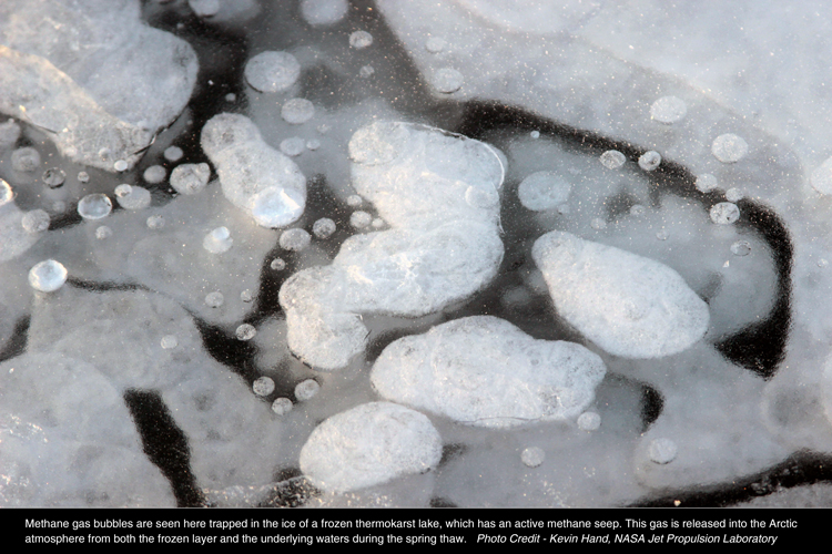 Methane-Generating Microbes In Arctic Lake Sediments Will Increase Production With Warming