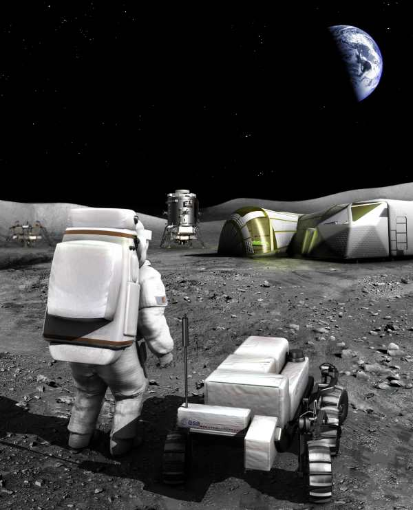 Case For Moon - New Positive Future For Humans In Space - Open Ended With Planetary Protection At Its Heart