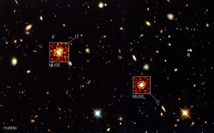 Beyond Hubble: MUSE Brings The Universe In 3-D
