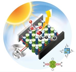 Metal-Organic Framework Compounds: Solar Cell Made Of Highly Ordered Molecular Frameworks