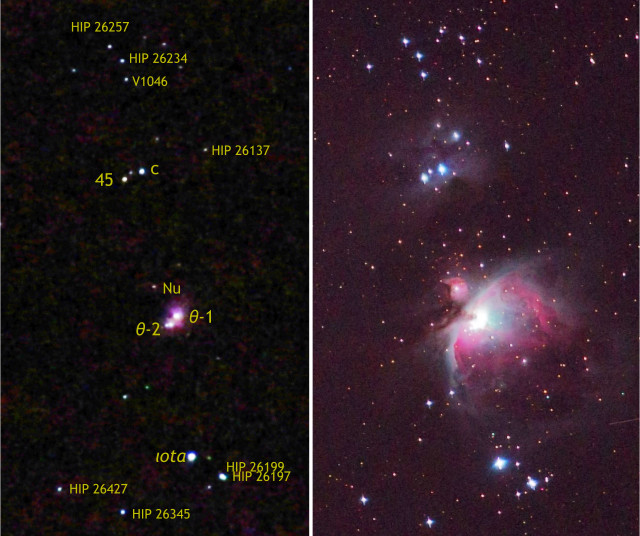 Orion Through The Camera — But Which Type?