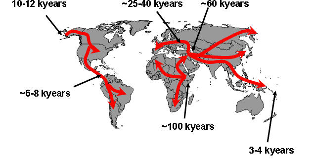 Out Of Africa Due To Weather: Did Climate Change Cause Early Human Migration?