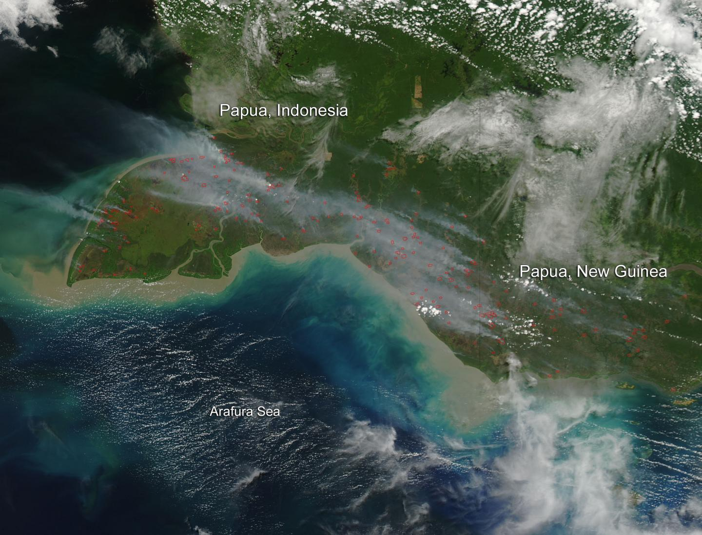 Asian Peat Fire Impact On Climate Change