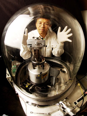 plancks law blackbody radiation Gang Chen with the vacuum chamber