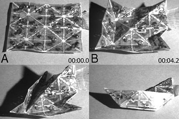 origami transformers programmable matter may be more than