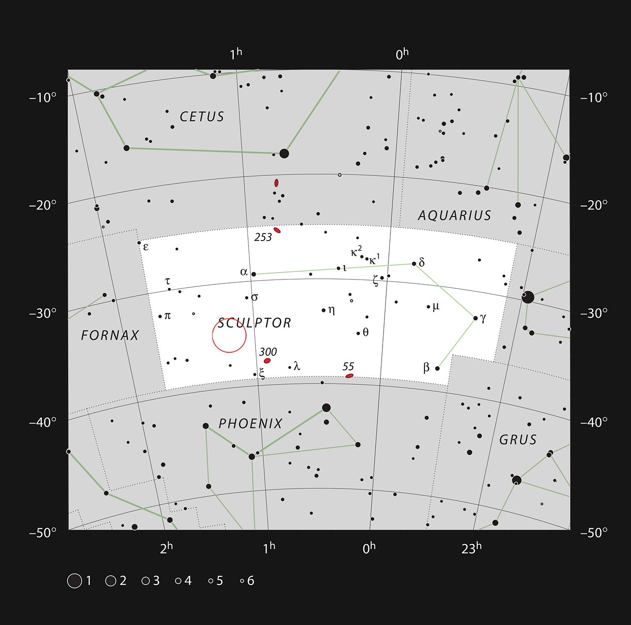 quasar HE0109-3518 in the constellation of Sculptor