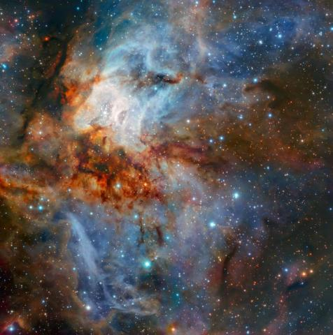 RCW 38 Captured By The Very Large Telescope