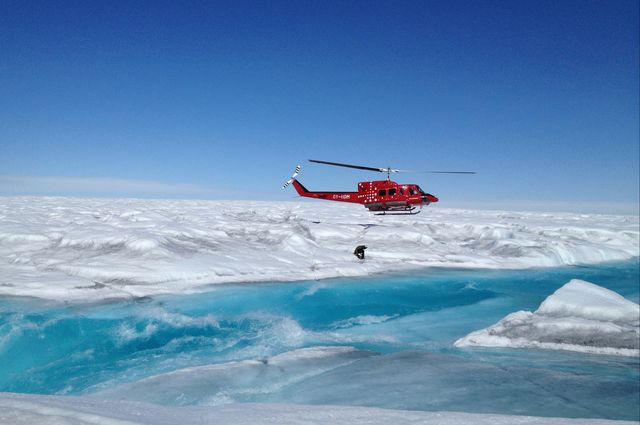 Meltwater On Greenland's Ice Sheet - Small Rivers Make A Big Difference