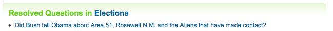 Thank You, Yahoo! Answers