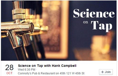 Science On Tap In Manhattan Starring...Me