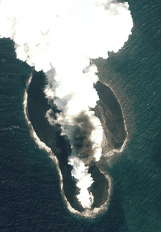 Satellites Catch Birth Of Two Volcanic Islands In Yemen