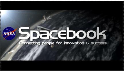 Spacebook And NASA Social Media