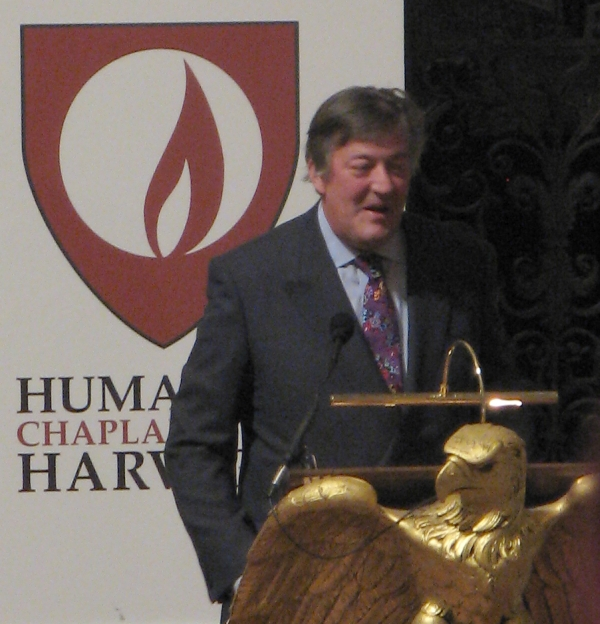 I Will Not Be Told: Stephen Fry's Speech At Harvard