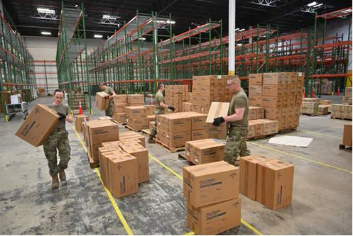 The Strategic National Stockpile Was Not Designed For An Extreme Event