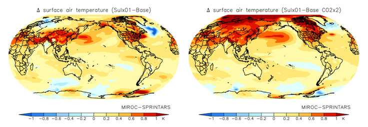 Sulfate Aerosols Implicated In Climate Change