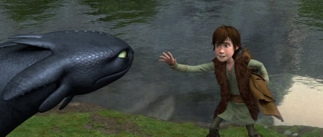 Toothless, still from 'How to Train Your Dragon' via imdb.com