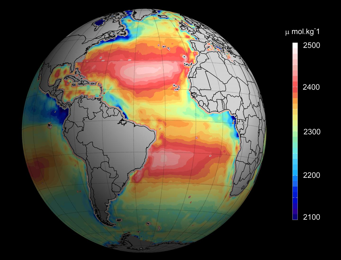 Ocean Acidification You Can See From Space