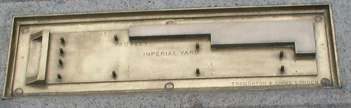 Imperial Units of Length Melt as Parliament Burns (Science in Trafalgar Square, London)