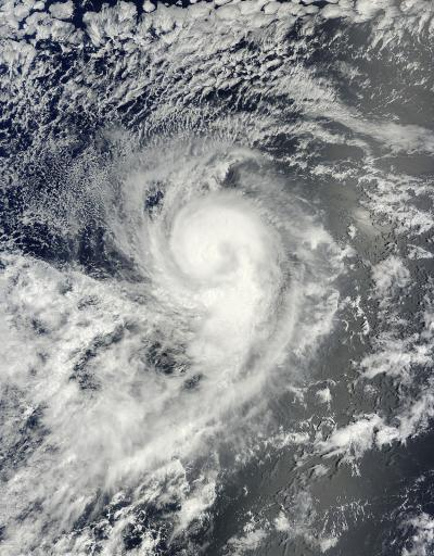 Though It's The 11th Cyclone This Season, Karina Is A Giant 9 From Space